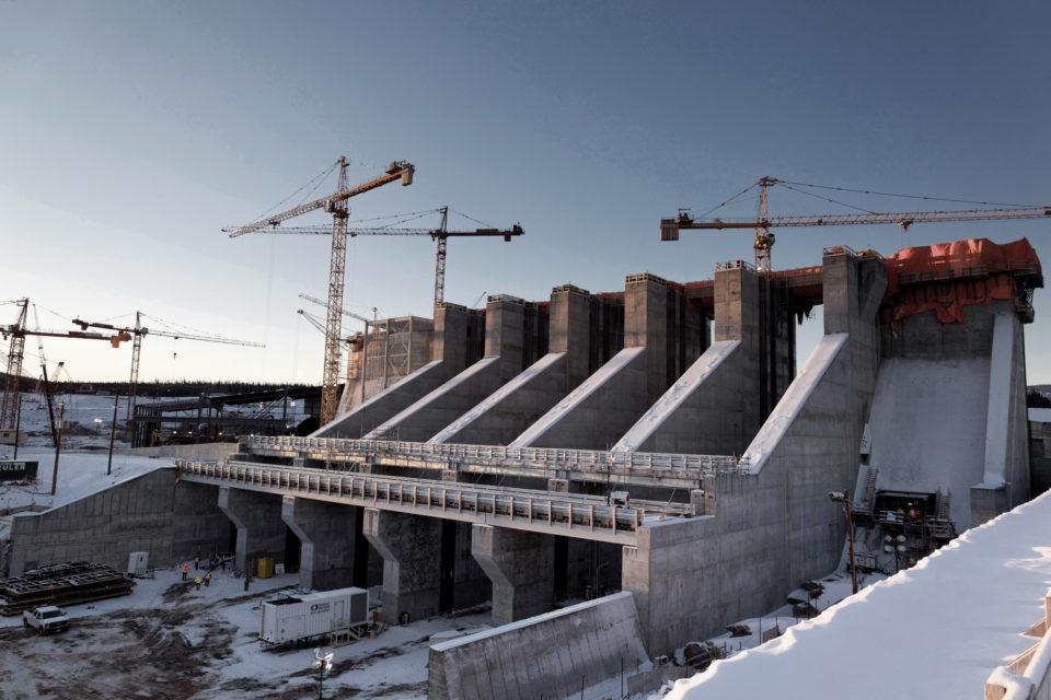 Lower Churchill dam project