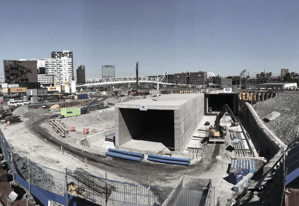 Huge box jacking completed for the Follo Line Project (Oslo, Norway)