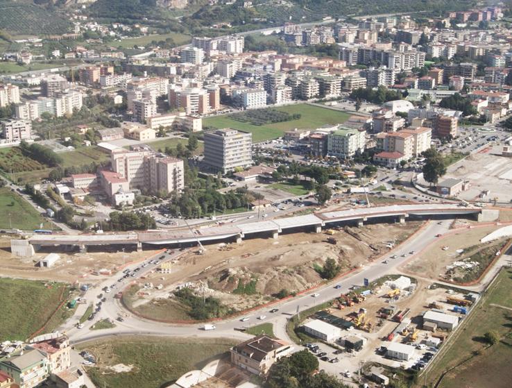 Battipaglia Road interchange