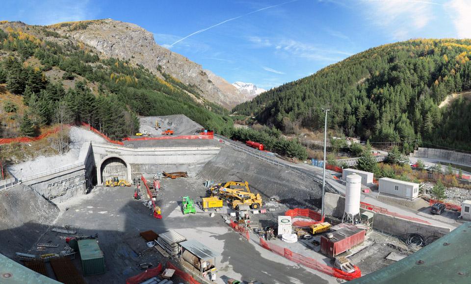 Frejus new tunnel