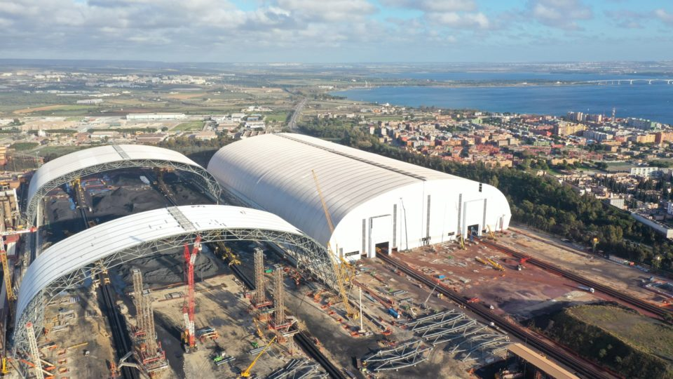 Ilva of Taranto, Steel shelters
