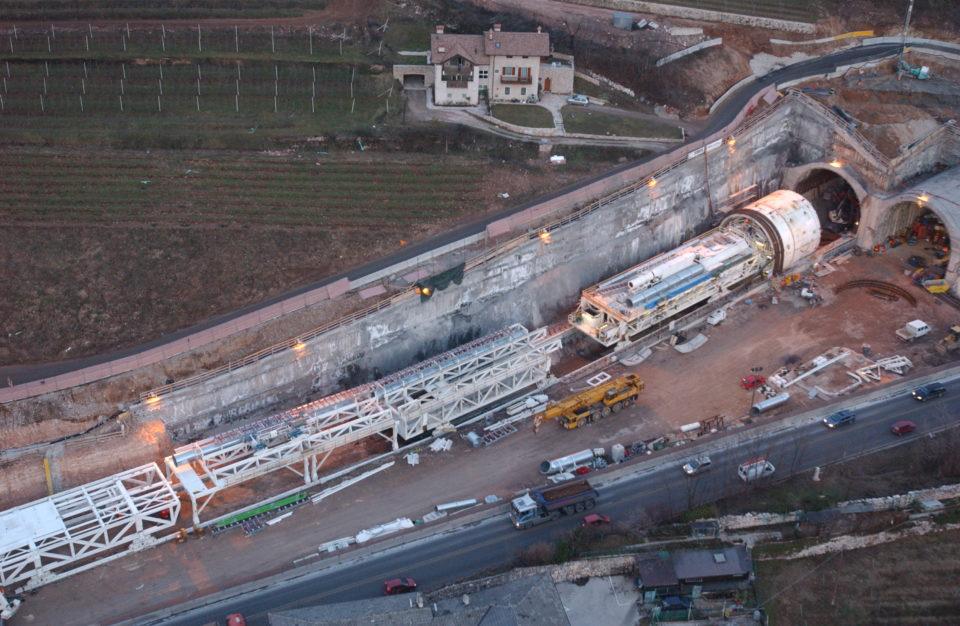 Martignano road tunnel