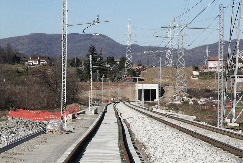 Milan – Lecco conventional railway