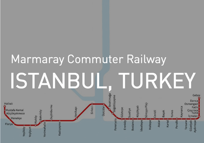 Marmaray Commuter Railway line <br> is now open to passengers!