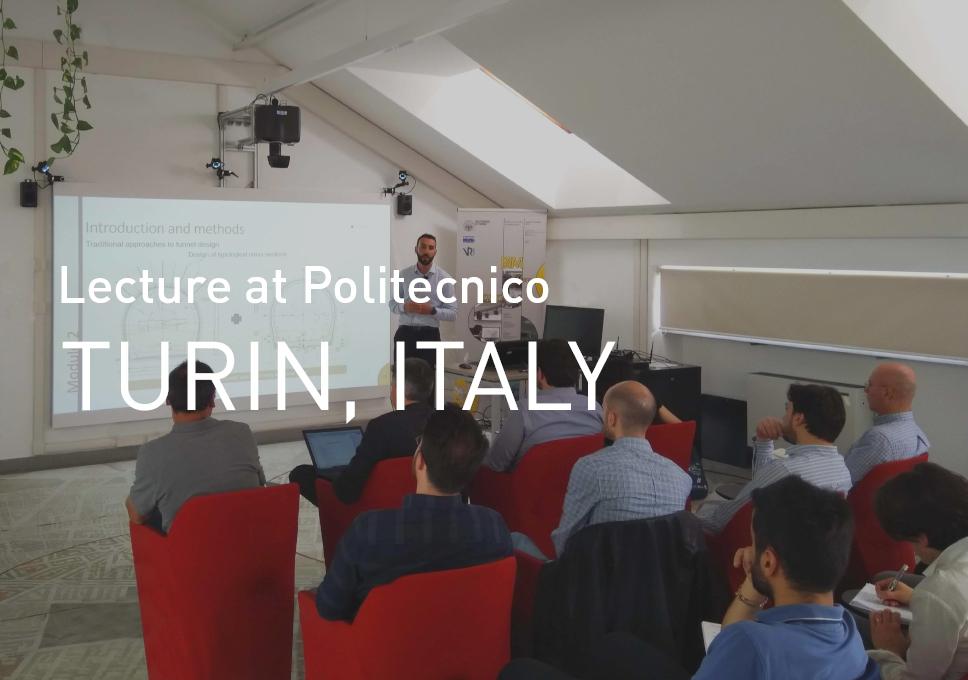 Lecture at Politecnico of Turin