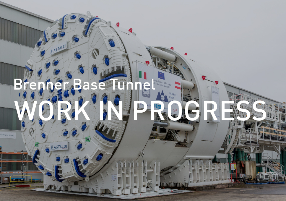 Brenner Base Tunnel, work in progress – TBM Virginia