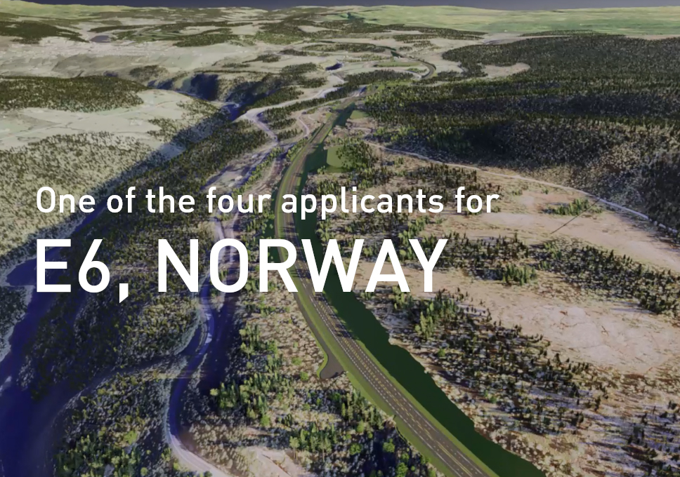 One of the four applicants for E6 in Norway