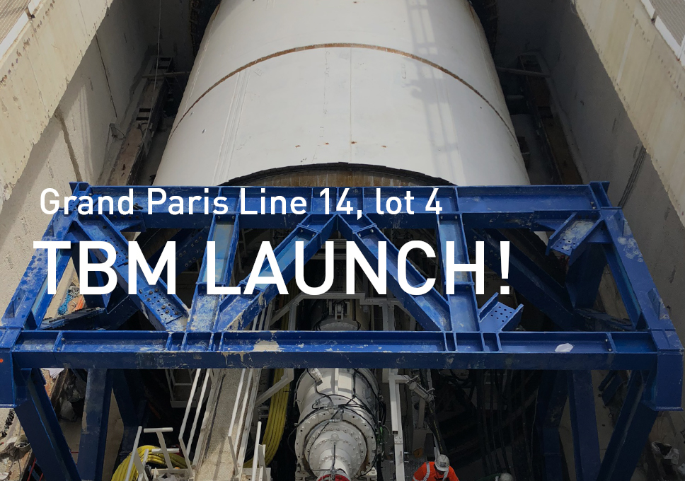Grand Paris Line 14, lot 4: TBM LAUNCH!