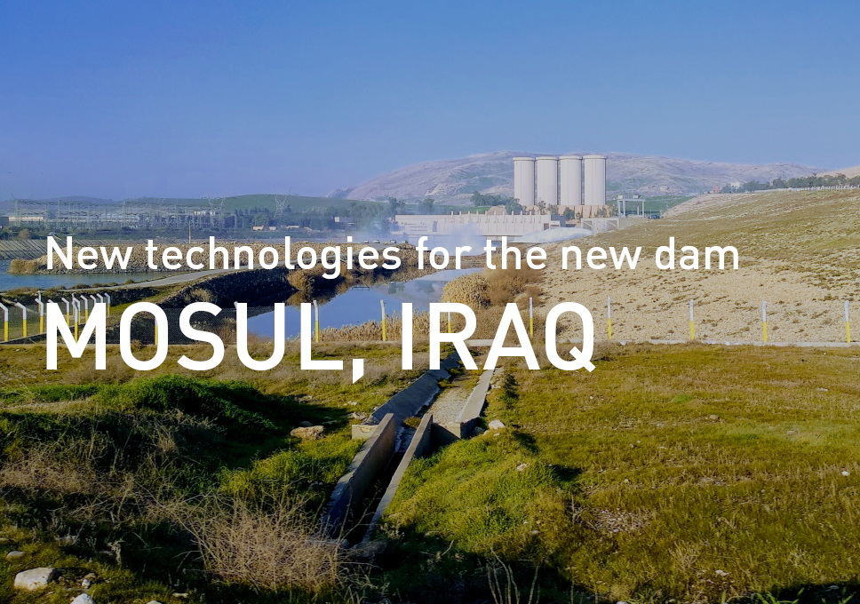 New technologies for the new dam in Iraq
