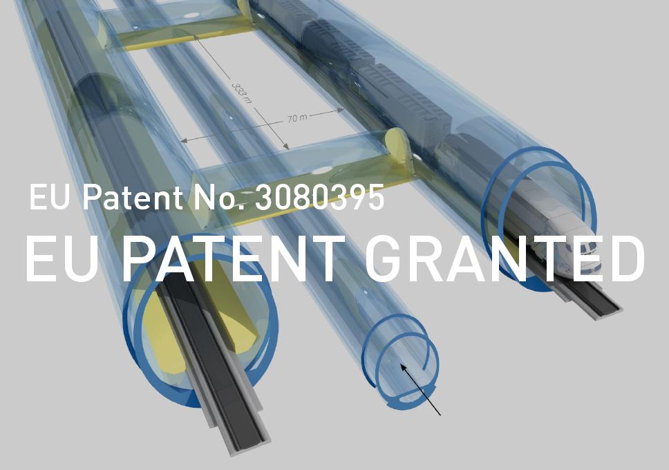 Smart Cross Passage (SCP) – European Patent granted