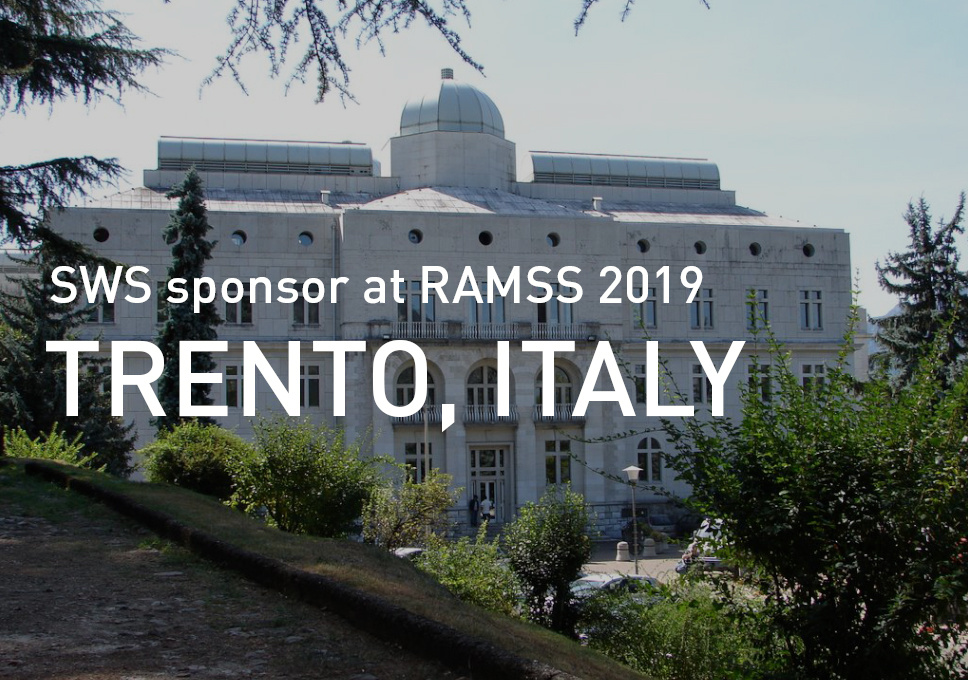 SWS sponsor at RAMSS 2019