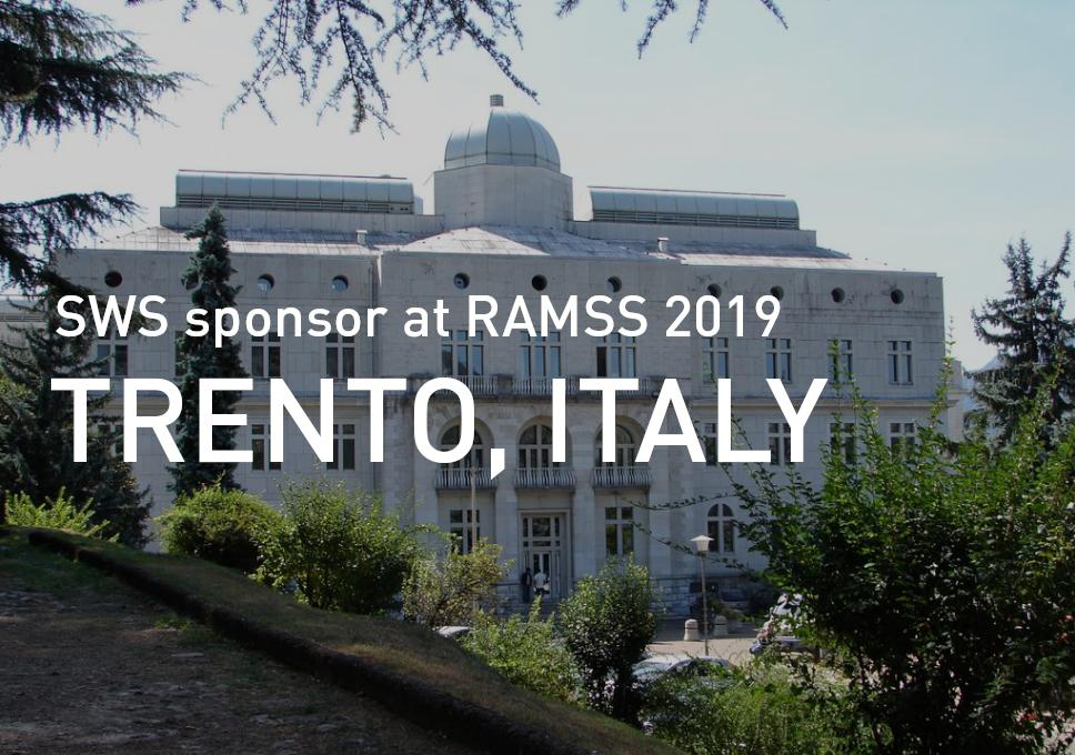 SWS sponsor at RAMSS 2019