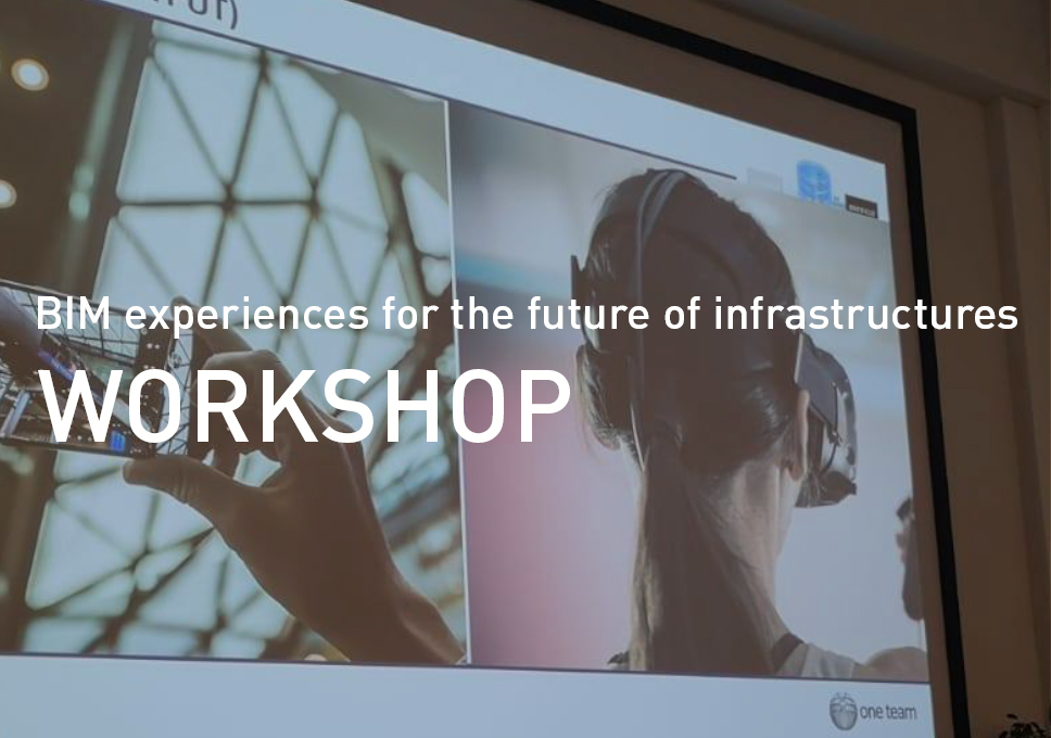 BIM experiences for the future of infrastructures