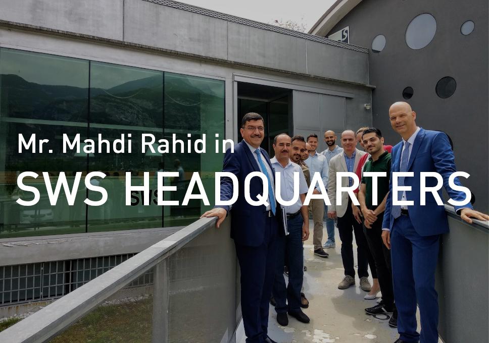 Mr. Mahdi Rahid visited SWS Headquarters