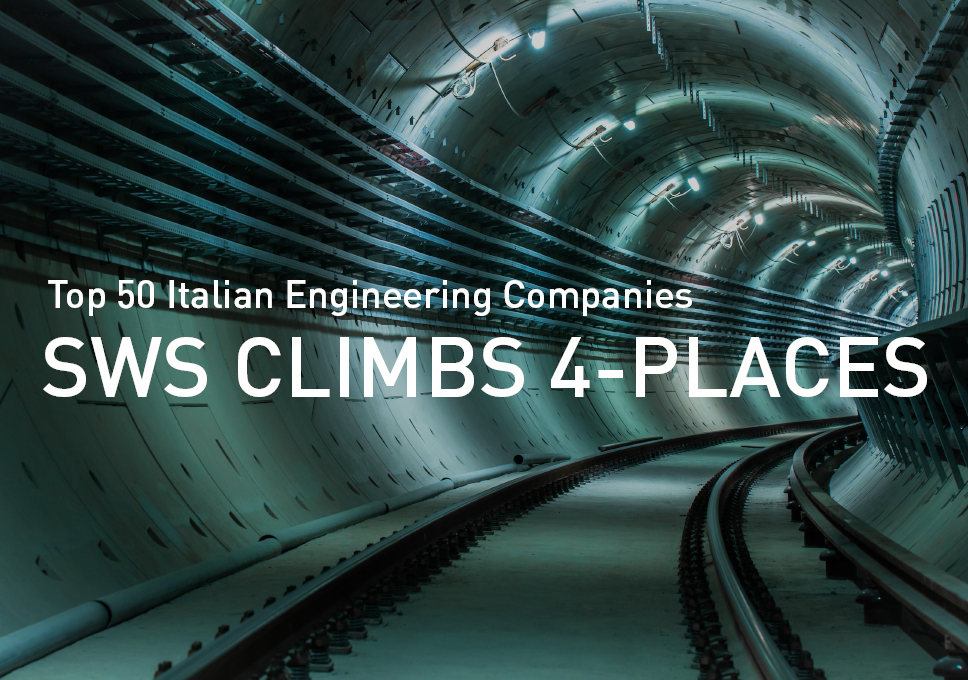 SWS 4-places forward in the Top 50 Italian Engineering Companies