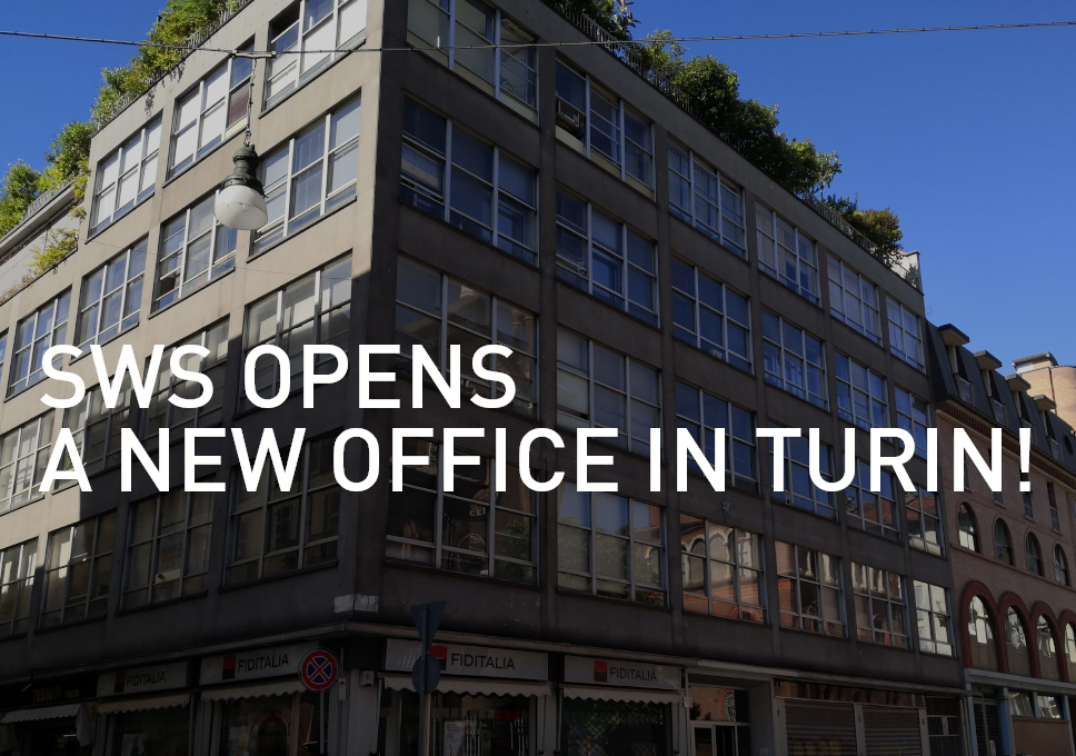 SWS opens a new office in Turin!