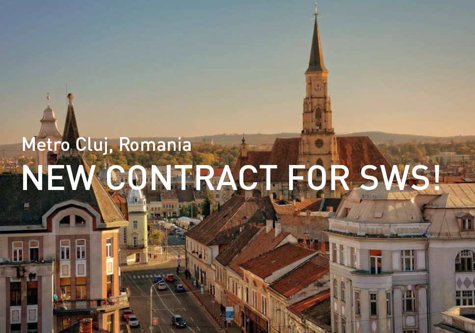 New contract for SWS in Romania!
