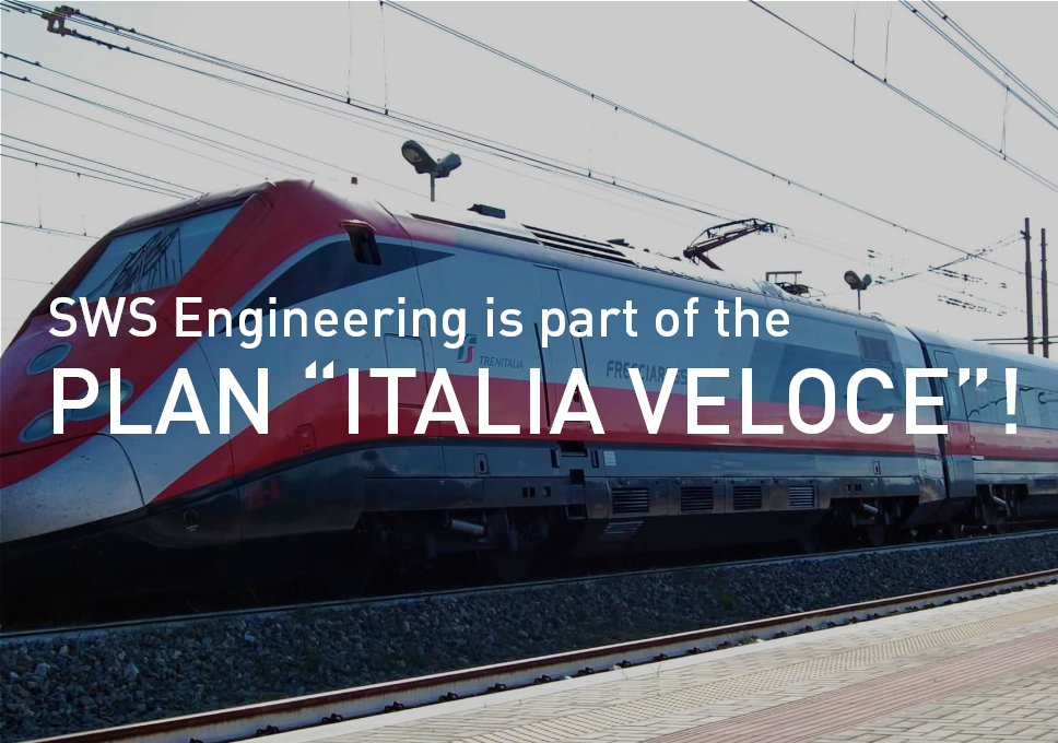 "SWS ENGINEERING IS PART OF THE PLAN ""ITALIA VELOCE""!"