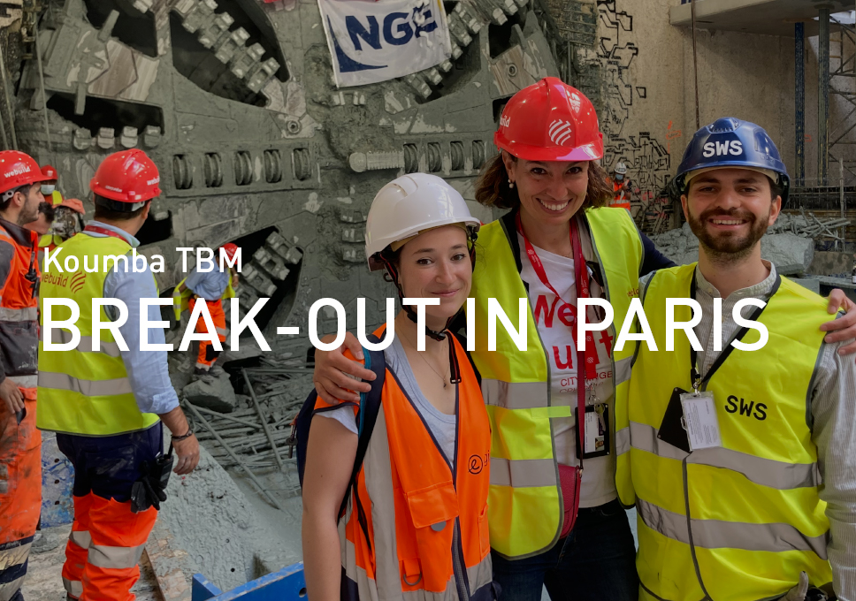 Koumba TBM Break-out in Paris!