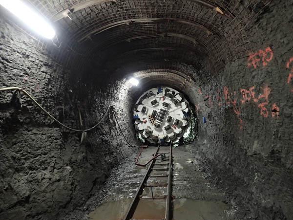 Annacis Island new outfall tunnel