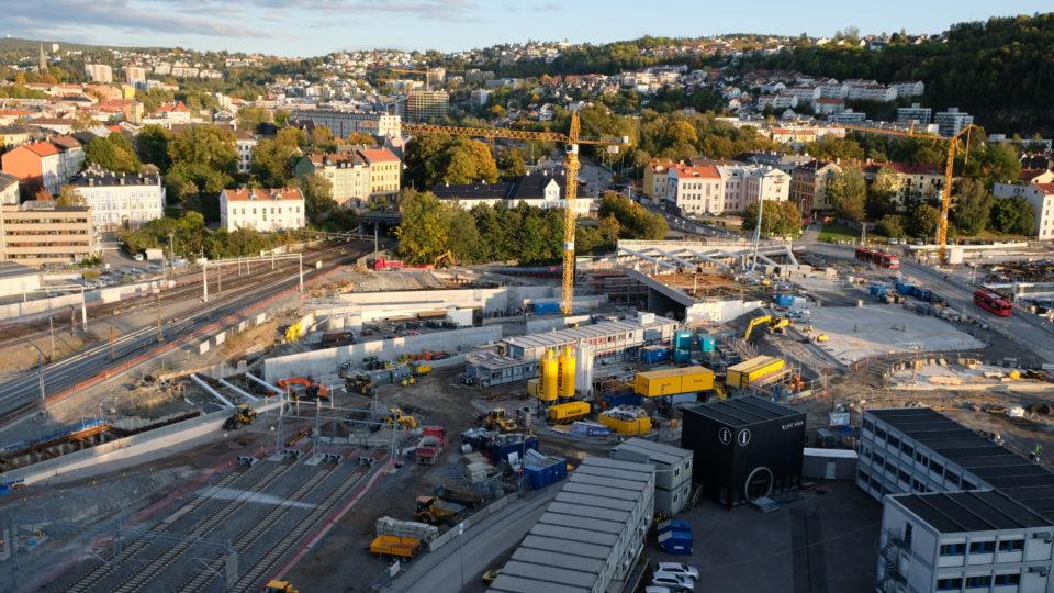 Follo Line project, Oslo S