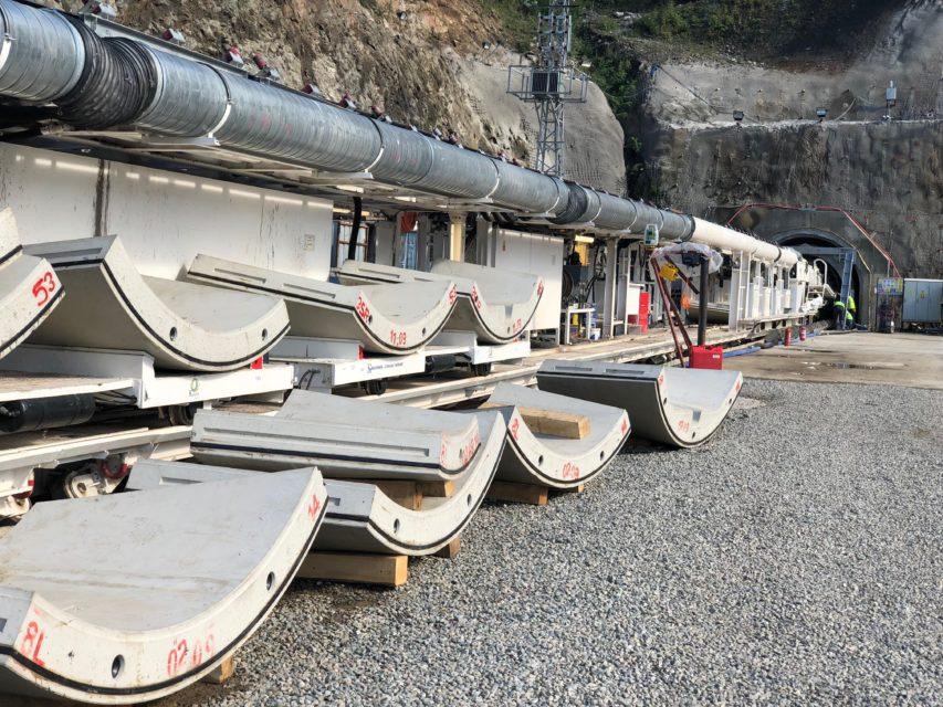 Kovanlik Hydroelectric power tunnel