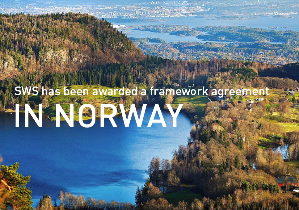 SWS has been awarded a framework agreement in Norway!