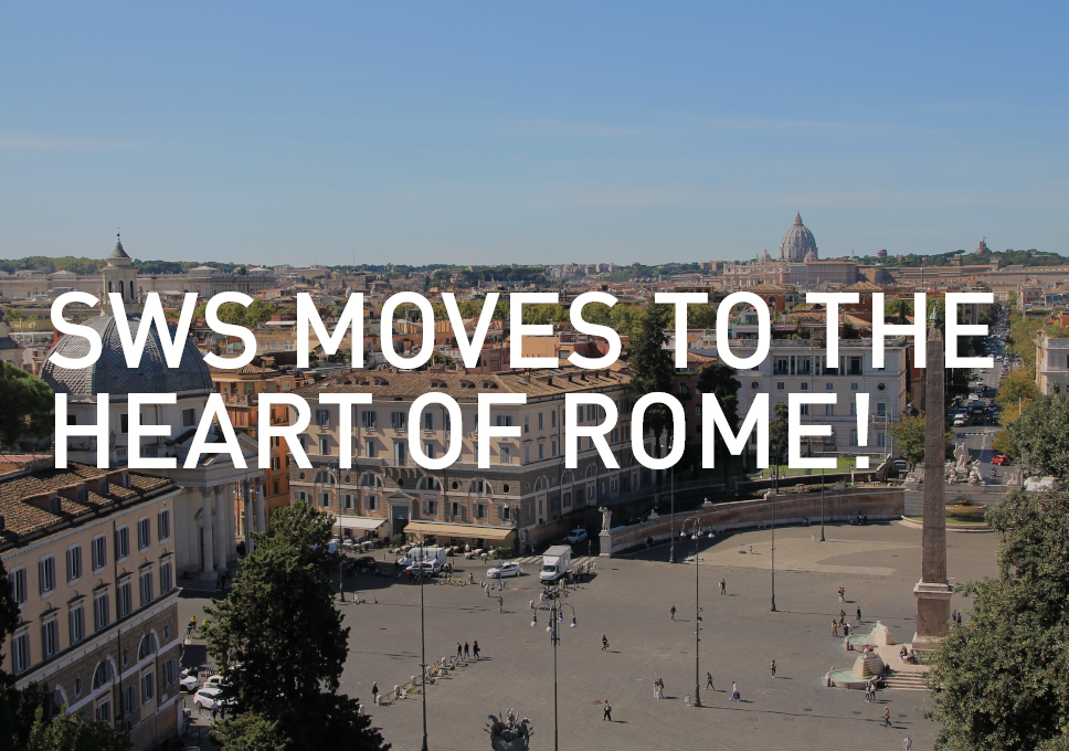 SWS moves to the heart of Rome!