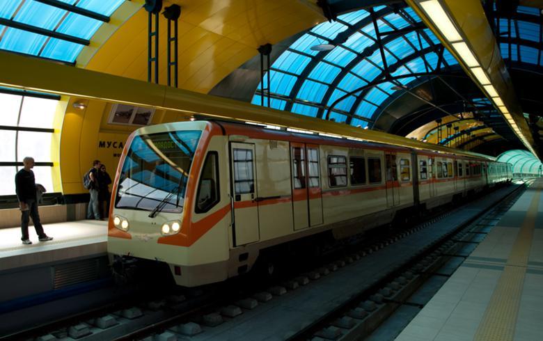 Sofia metro line