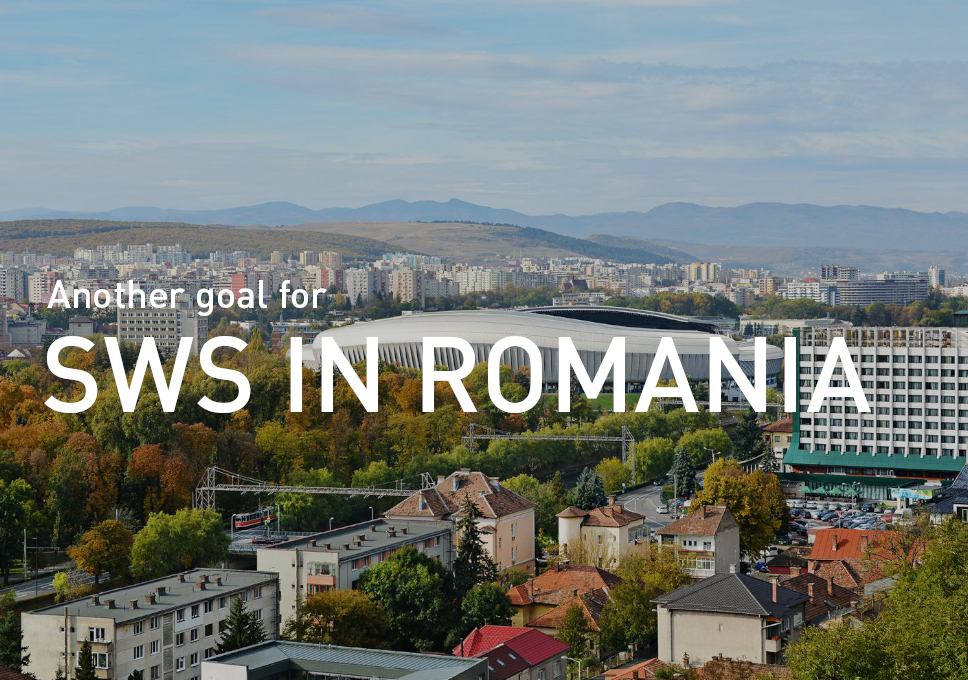 Another goal for SWS in Cluj, Romania!