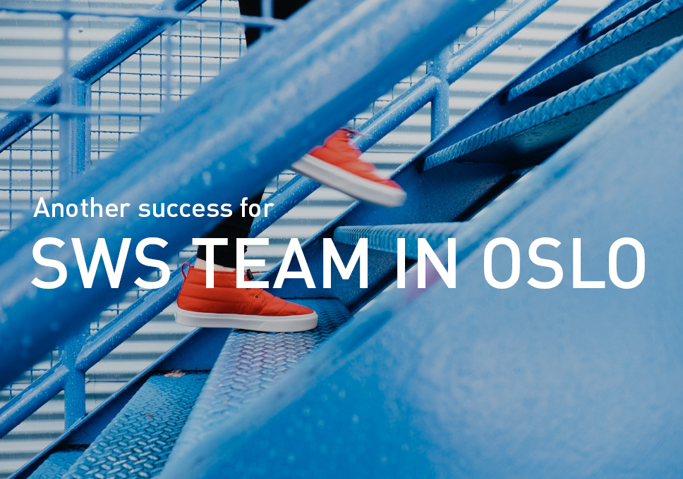 Another success for SWS team in Oslo!