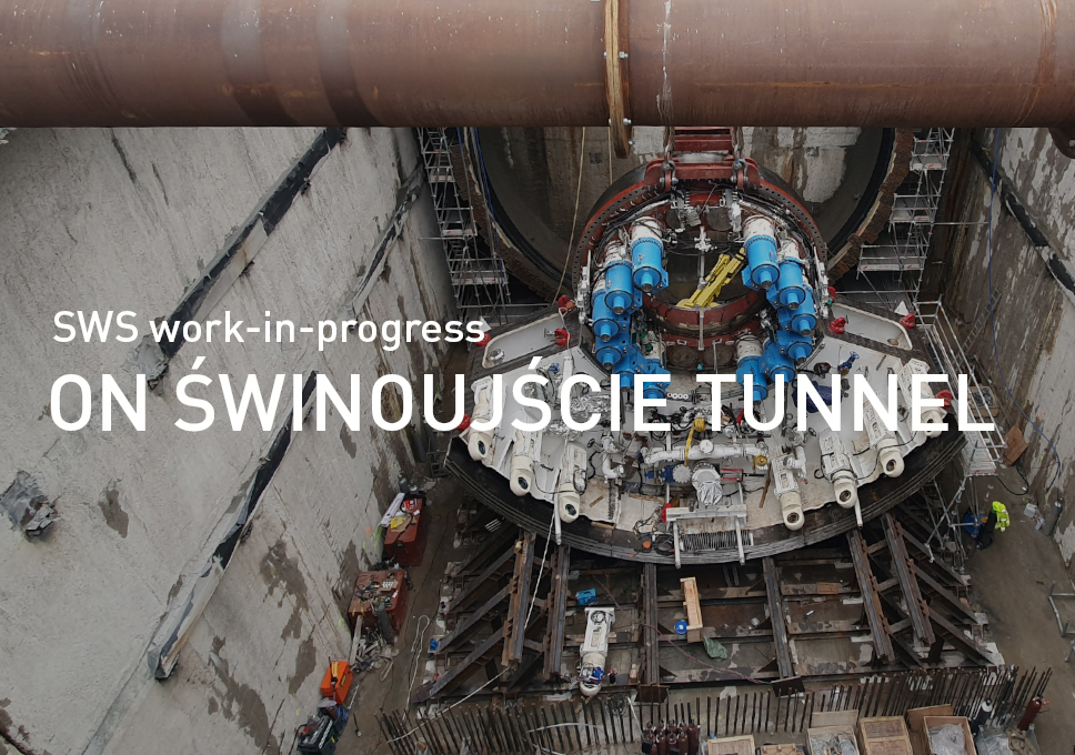 SWS work-in-progress on Świnoujście tunnel in Poland!
