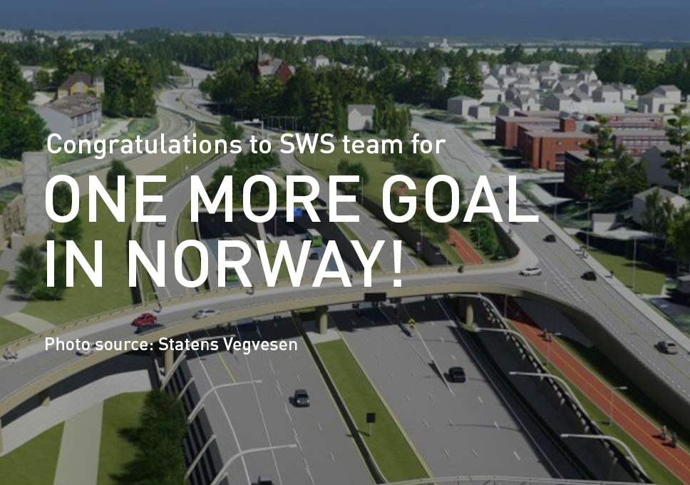 Congratulations to SWS team for one more goal in Norway!