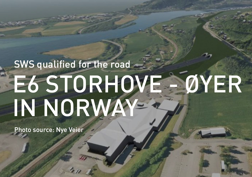 SWS qualified for the road E6 Storhove – Øyer in Norway!