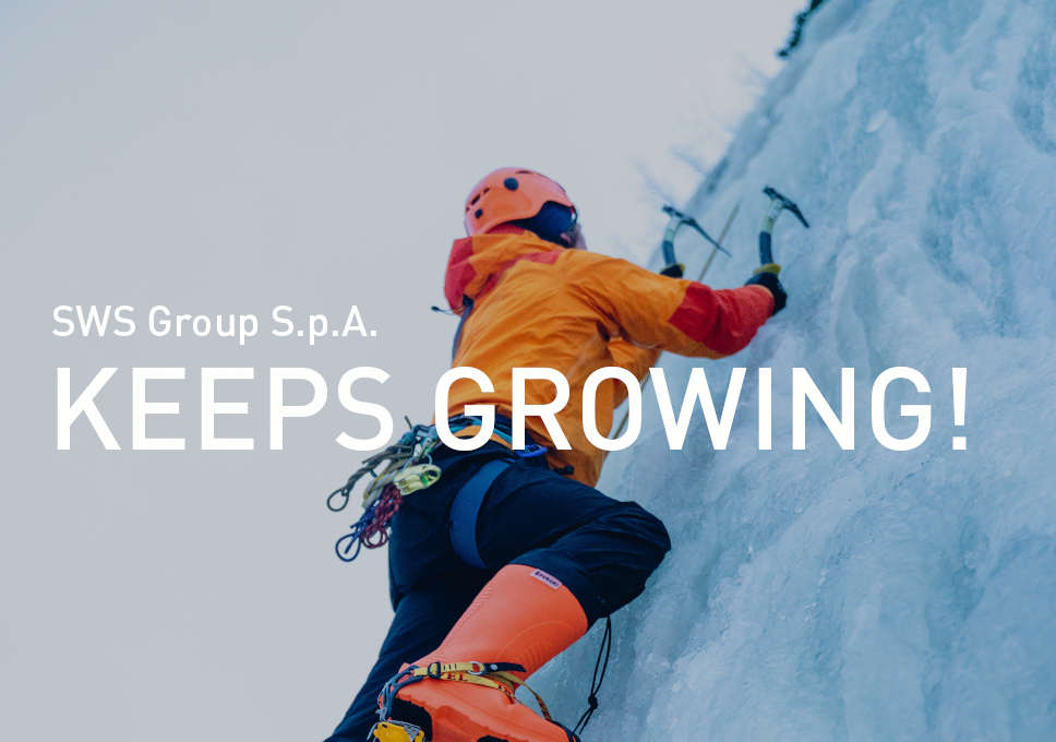 SWS Group S.p.A. keeps growing!