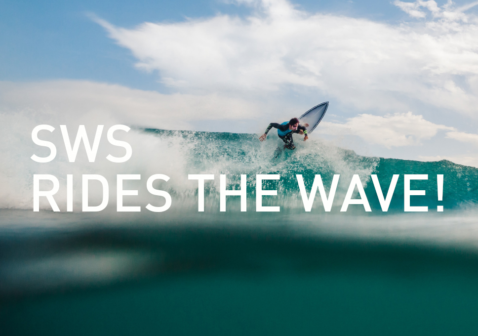 SWS rides the wave!