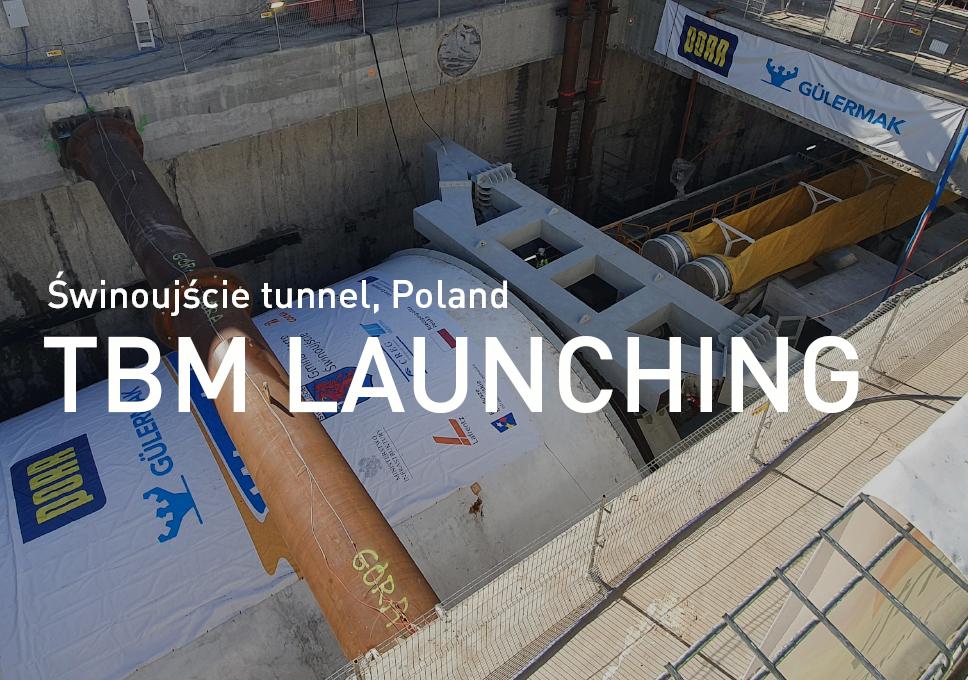 Świnoujście tunnel – TBM launching