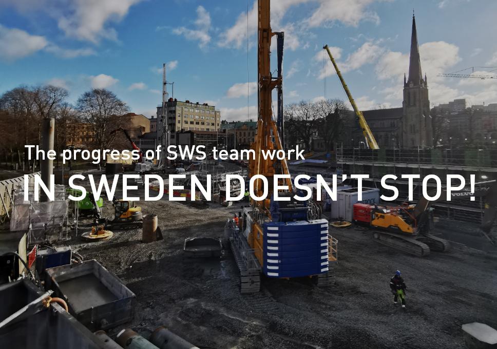 The progress of SWS team work in Sweden doesn't stop!