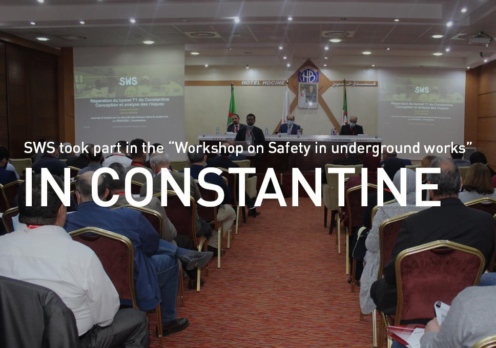 """SWS took part in the """"Workshop on Safety in underground works"""" in Constantine"""