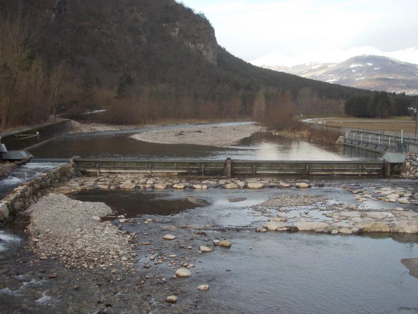 Brenta hydroelectric plant