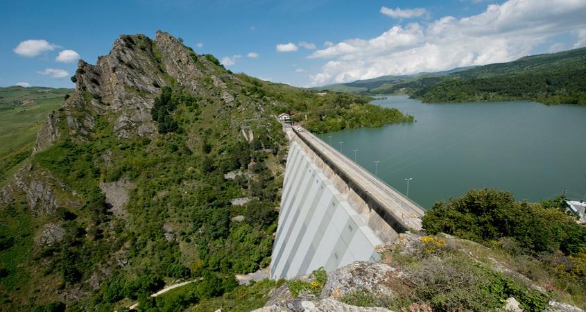 Comunelli existing dam