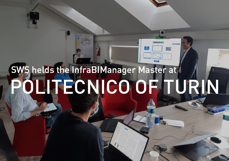 SWS helds the 'InfraBIManager Master' at Politecnico of Turin