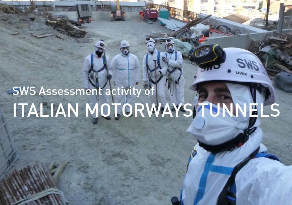 SWS Assessment activity of Italian motorways tunnels