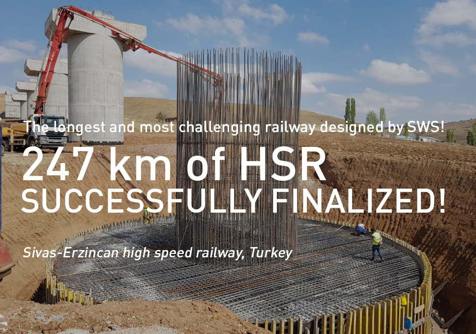 247 km of high speed rail successfully finalized!