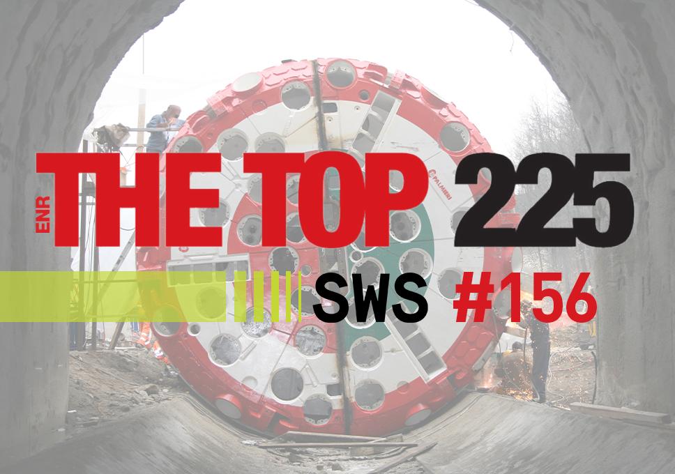 SWS among the top 225 ENR International Design Firms!