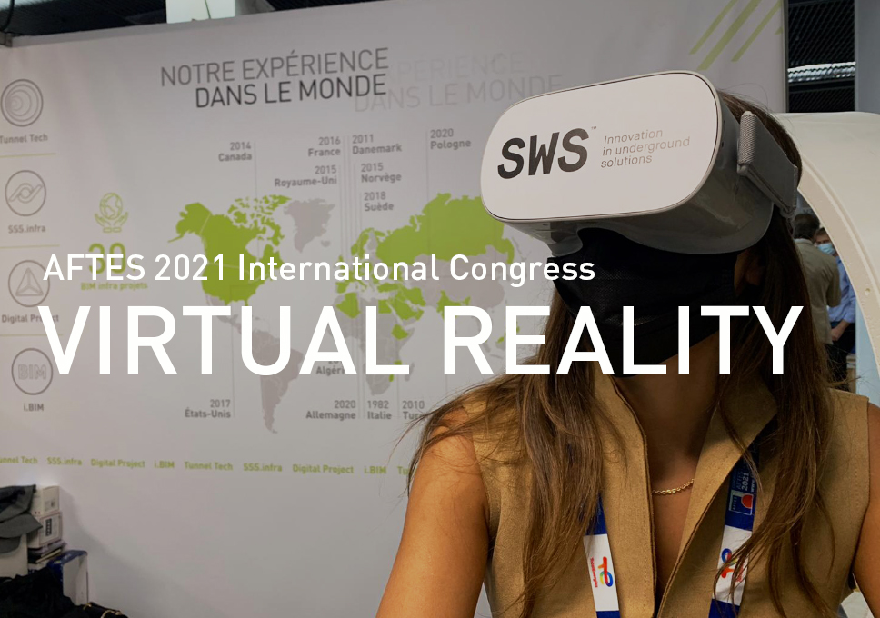 Virtual Reality experience at SWS booth #79!