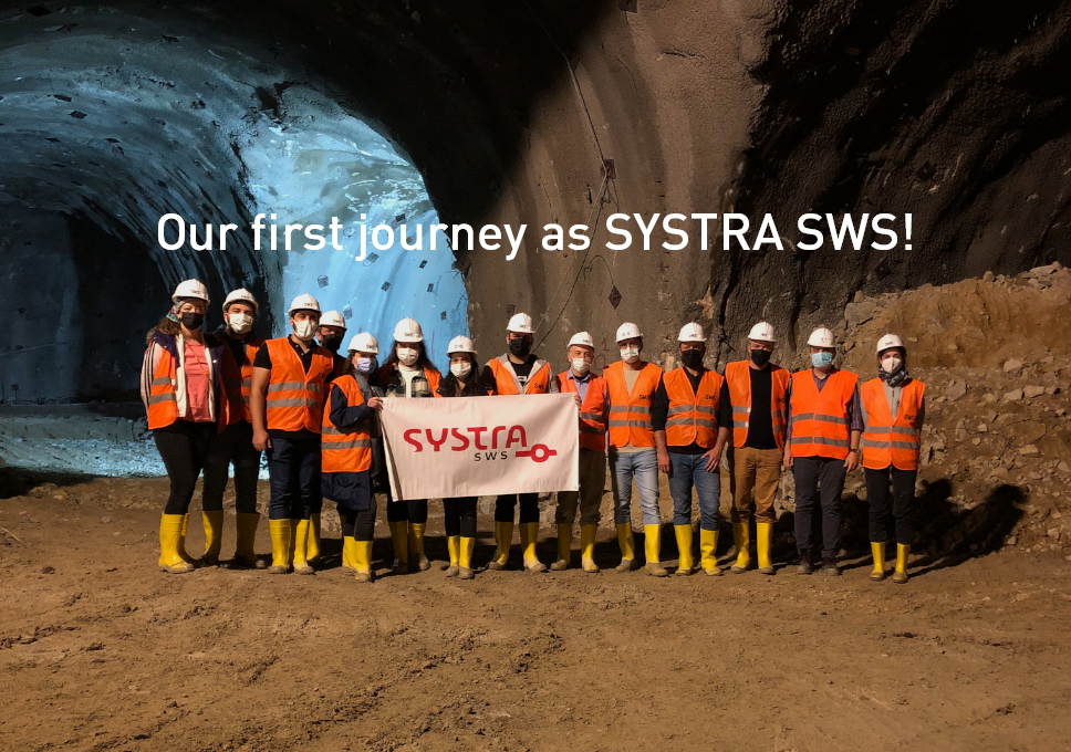 Our first journey as SYSTRA SWS!